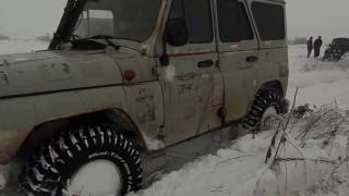Бездорожье 2017 Уаз Хантер Патриот Буханка внедорожники по бездорожью SUV 4Х4