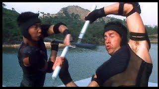 Боевая сцена, Скотт Эдкинс против Джан Нгай Енг/Исаак Борман против Жин Фенг