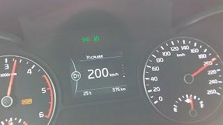 기아 신형 K5 1.7 디젤 0-200km/h 가속 - 2015.07.20
