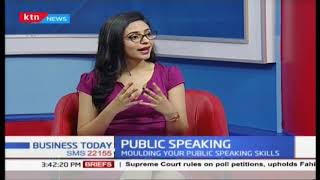 How and when to prepare for public speaking | Griffins Omwenga