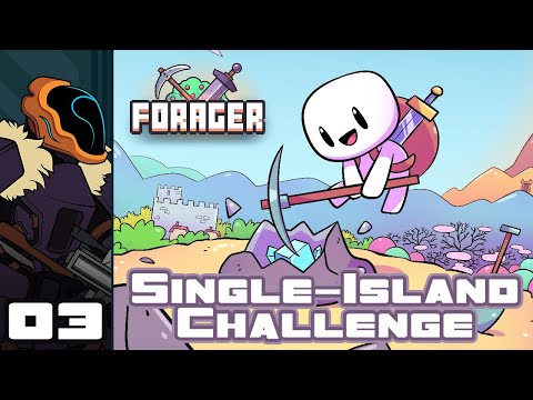 Let's Play Forager: Single Island Challenge - PC Gameplay Part 3 - Let There Be Light!