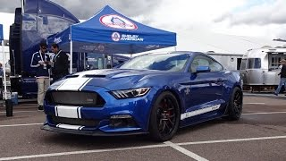 Super Snake Shelby Mustang 2017 Ford in Blue & Engine Sound on My Car Story with Lou Costabile