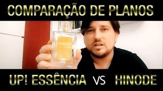 Comparação HINODE vs UP! ESSÊNCIA - Jimmy Fenner