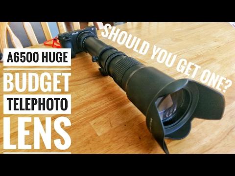 A6500 – Massive 500-1000mm Lens – It's 80 Bucks, Does it Suck?