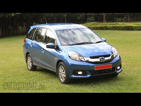2014 Honda Mobilio - First Drive Review (India)