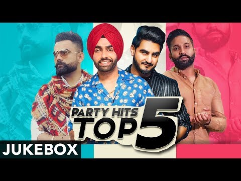 Top 5 Party Hits (Video Jukebox) | Dilpreet Dhillon | Amrit Maan | Mankirt Aulakh | Kulwinder Billa