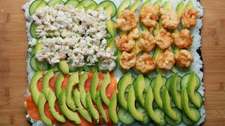 Sushi Sandwiches: Menu Sahur Praktis untuk si Kecil