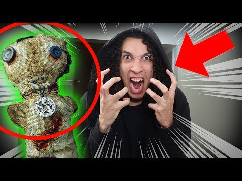 EXTREME VOODOO DOLL CHALLENGE WITH MY EVIL TWIN!! (GONE WRONG!!)
