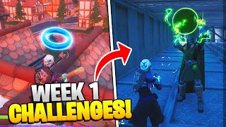 Fortnite Season 4 Week 1 Challenges Guide & Locations! (FULL CHALLENGES FAST & EASY)