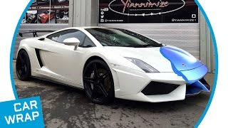 Lamborghini Gallardo wrapped in Satin Ocean Shimmer