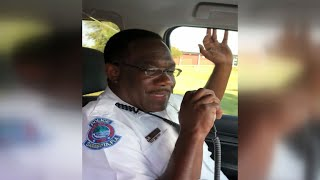 Emotional last radio call by Florida officer goes viral