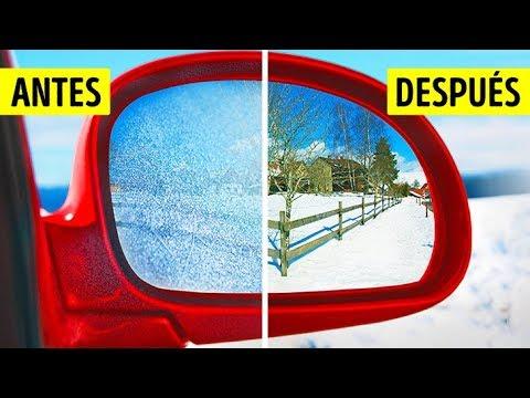 11 Trucos sencillos para proteger tu auto en invierno