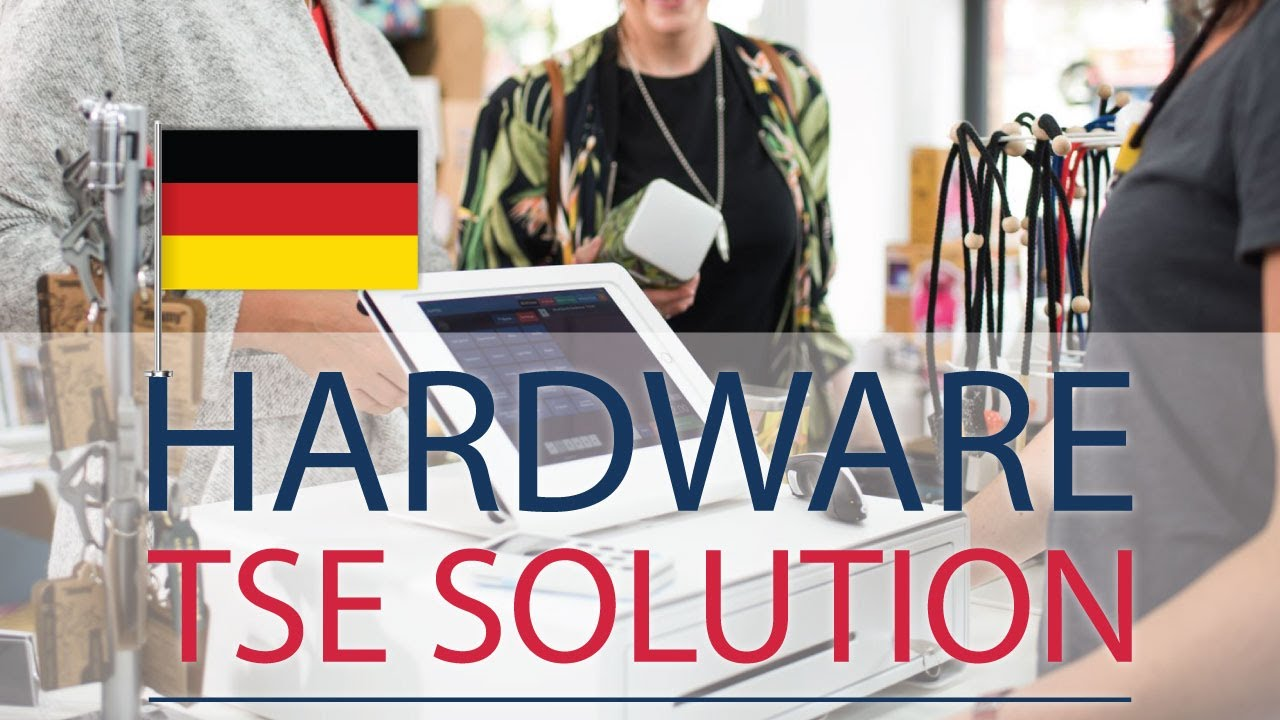 Fiscalization in Germany: Hardware based TSE Solution