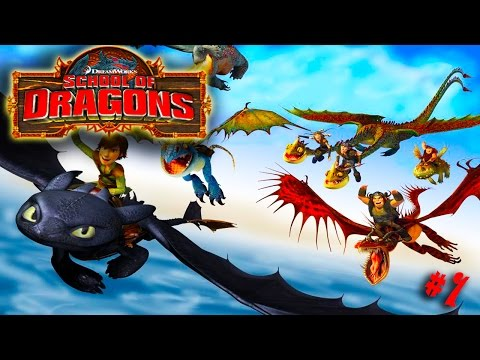 How to Train Your Dragon : School of Dragons #1 'Hatching a Dragon'