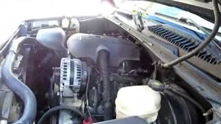 How to GMC sierra Chevy Silverado Coolant leak heater core fittings! Easy fix