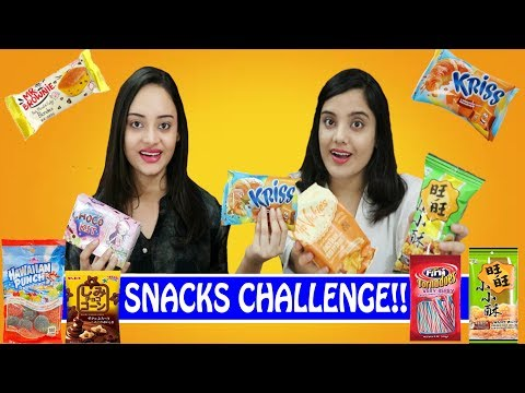 Snacks Challenge | International Snacks | Life Shots