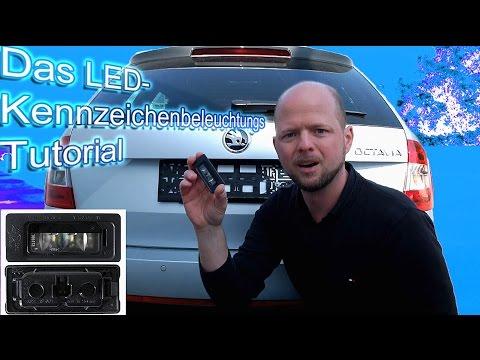 Skoda Octavia RS | Das LED Kennzeichenbeleuchtung Tutorial |