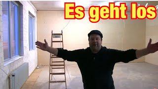 Endlich geht es los! Werkstatt Vlog #1 Stromanschluss