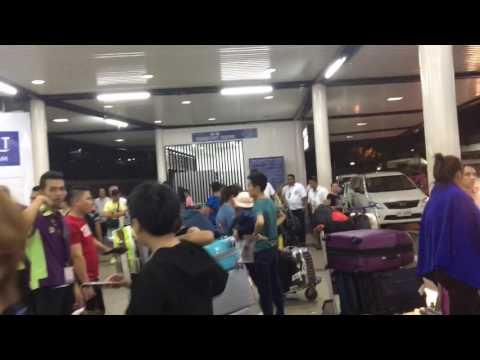 マニラ空港  ターミナル1  クーポンタクシー乗り場1F