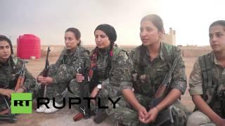 Syria Meet The Kurdish Women Fighting The Frontline Battle Against IS