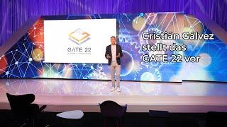 Cristián Gálvez stellt das GATE 22 vor