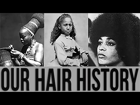The History Of Natural Hairstyles Amp Black Hair African