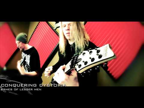 CONQUERING DYSTOPIA - ASHES OF LESSER MEN online metal music video by CONQUERING DYSTOPIA