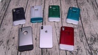 Spigen Classic One / Classic C1 Retro iPhone Cases (Apple iPhone 8, Apple iPhone 8 Plus, Apple iPhone X)