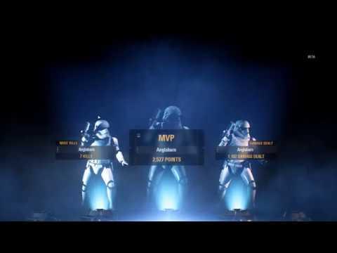 Видео Epic battle! Star Wars Battlefront II Beta