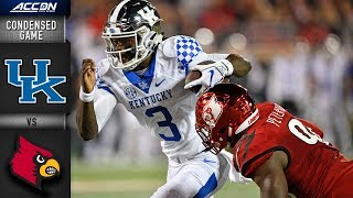 Kentucky vs. Louisville  Condensed Game | 2018 ACC Football