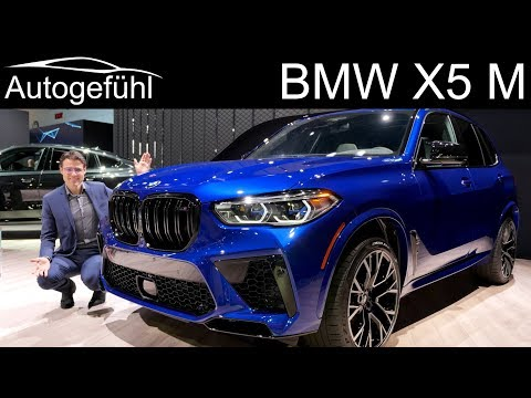 BMW X5 M Competition REVIEW Premiere 625 hp SUV Exterior Interior - Autogefühl