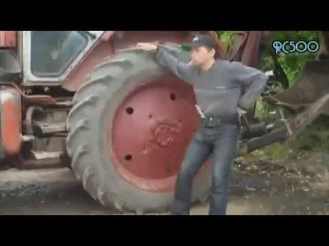 витя сельский тракторист