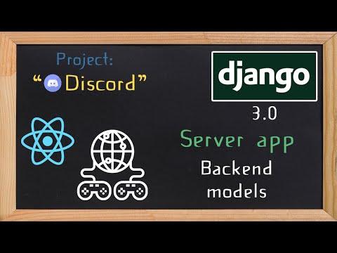Django and ReactJS together - Server app models  | 8 thumbnail