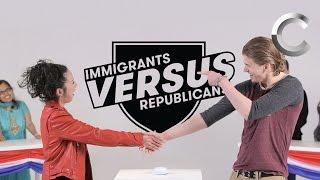 Versus: Immigrants / Republicans Take the US Citizenship Test - Episode 1 | Cut