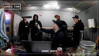 The Cave - KENNY BEATS & MAXO KREAM FREESTYLE8