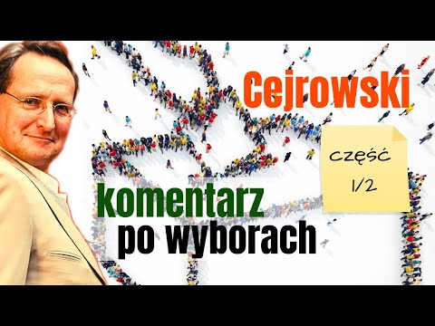 1/2 Cejrowski - komentarz po wyborach 2019/10/14 Studio Dziki Zachód odc. 30