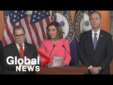 Trump impeachment: Pelosi names impeachment managers for upcoming Senate trial | FULL
