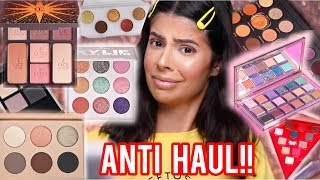 HUGE ANTI HAUL   MAKEUP I WILL NOT BE BUYING!