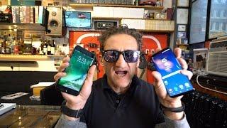 Обзор Samsung Galaxy S8+, сравнение с Iphone 7+. Кейси Нейстат на русском