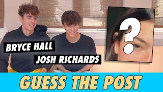 Bryce Hall vs. Josh Richards - Guess The Post