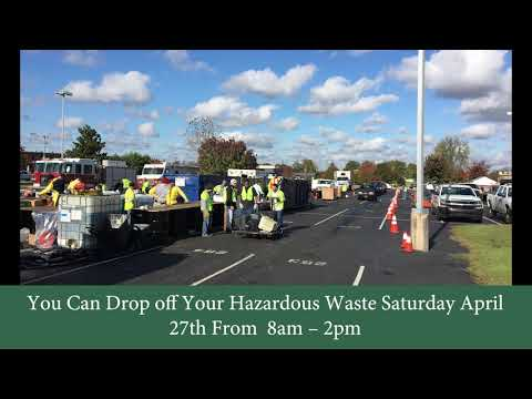 Hazardous Waste Removal Day