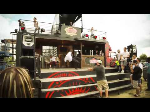 DESPERADOS PARTY TRUCK 2014 - YouTube