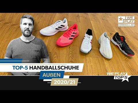 Top-5 Handballschuhe Außen 2020/21