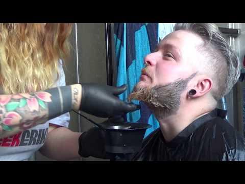 FUN VIDEO keine Anleitung zum Bart Färben