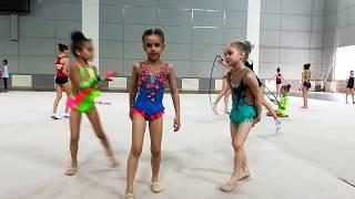 Художественная гимнастика/несколько элементов после соревнований по художественной гимнастики/ЗОЖ