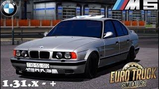 BMW M5 E34 V2 MOD (Salahov) - Euro Truck Simulator 2 [1.31.x]