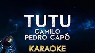 Camilo, Pedro Capó   Tutu (Karaoke Instrumental)