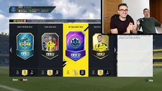 MY FIRST WALKOUT!!! INSANE FIFA 17 SPECIAL PACKS!!! Fifa 17 50k Pack And More Pack Opening