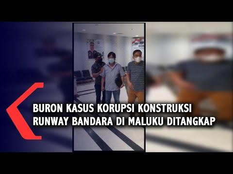 buron kasus korupsi konstruksi runway bandara di maluku ditangkap