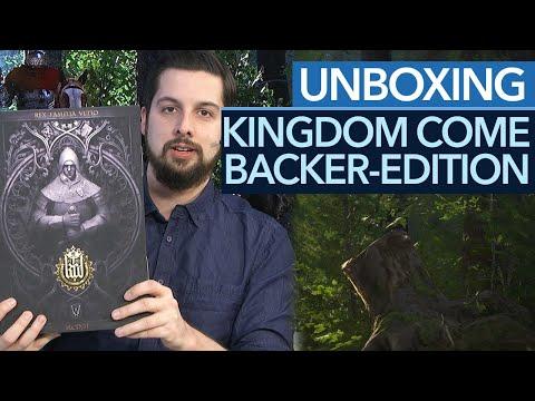Kingdom Come: Deliverance - Unboxing: Ärger um die Kickstarter-Collector's Edition